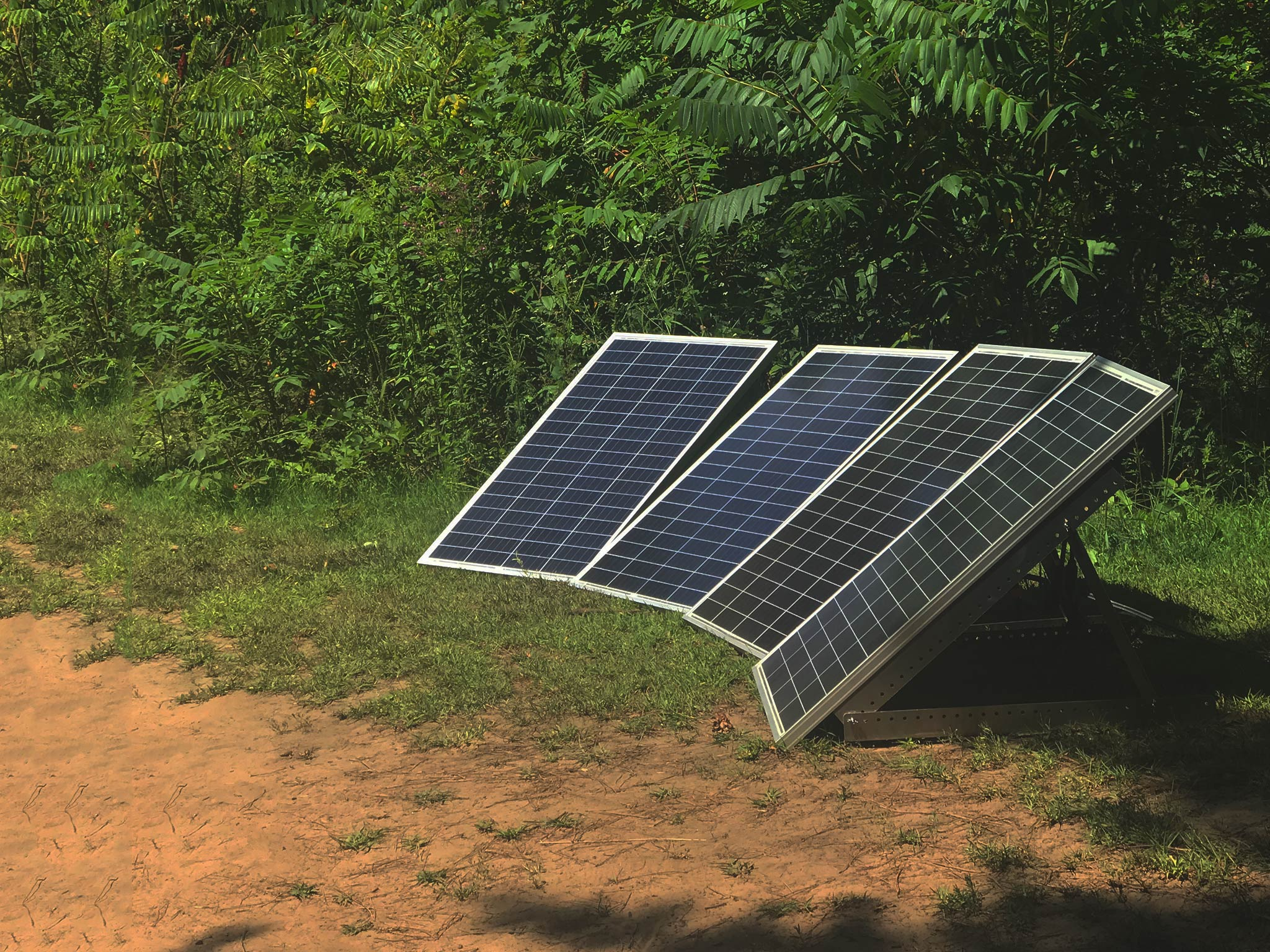 Underknown Works Off The Grid for Solar Day